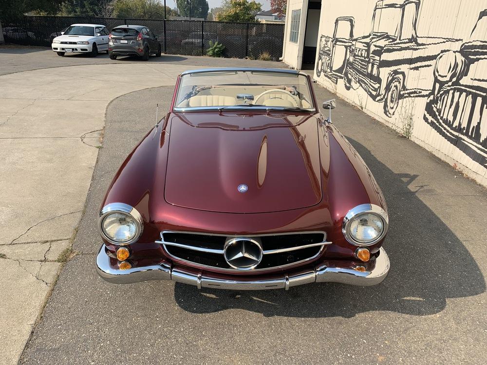 1962 Mercedes Benz 190SL 2 Door Convertible for sale