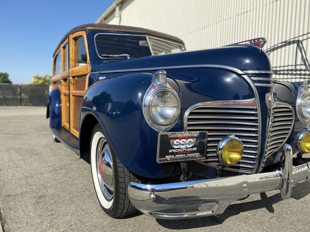 1941 Plymouth Special Deluxe 4 Door Woodie for sale