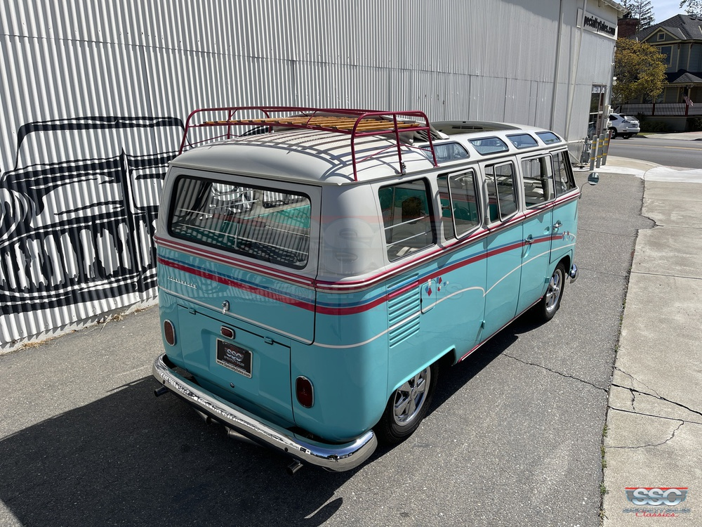 1967 Volkswagen 21 Window 3 Door Microbus for sale