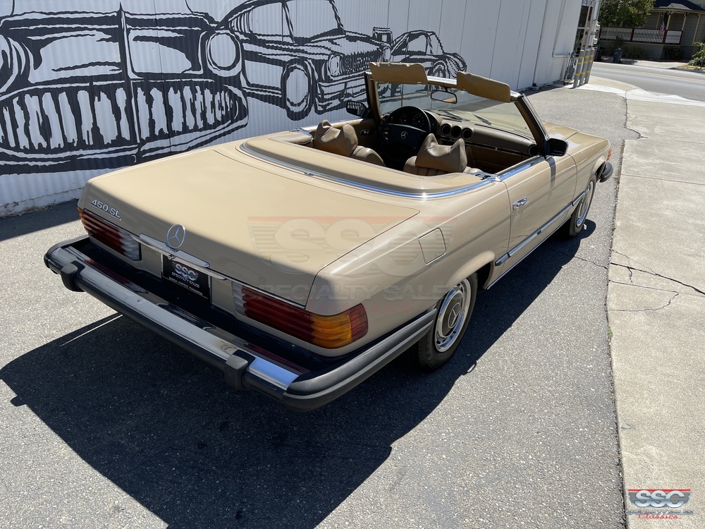1974 Mercedes Benz 450SL 2 Door Roadster for sale