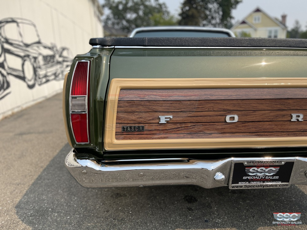 1970 Ford Ranchero Squire 2 Door Pickup for sale