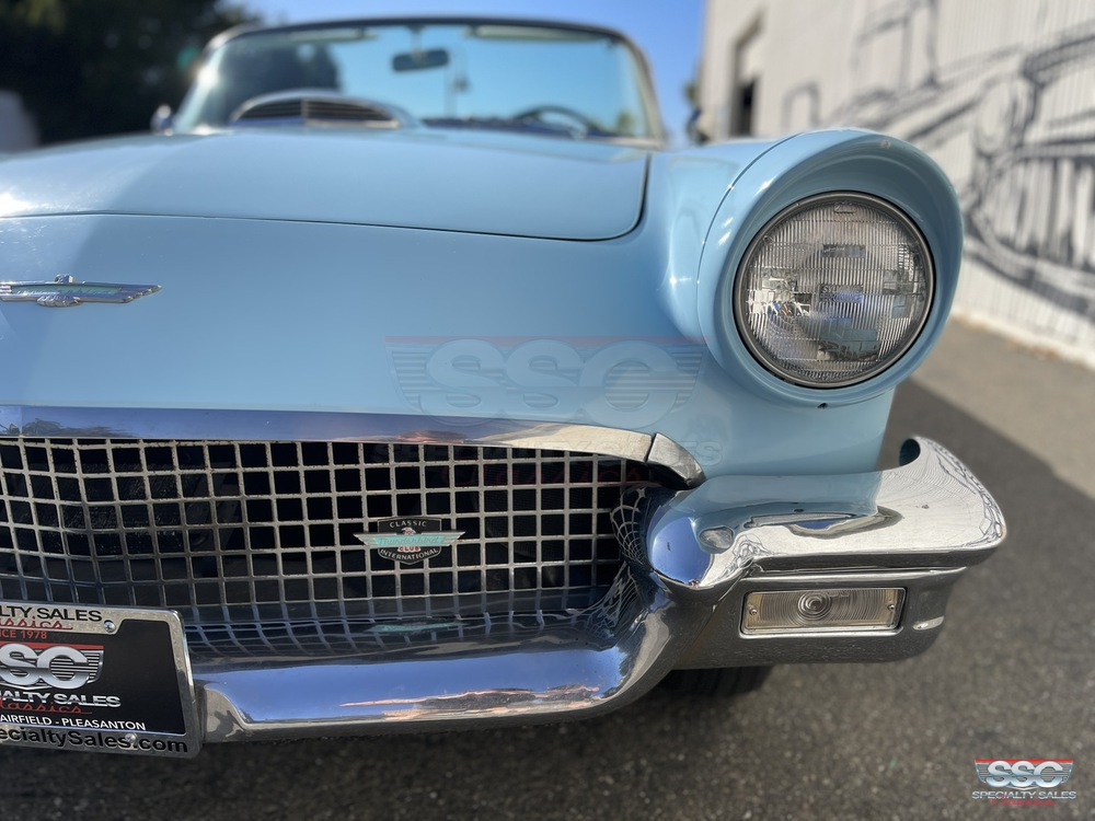 1957 Ford Thunderbird 2 Door Roadster w/ Removable Hardtop for sale