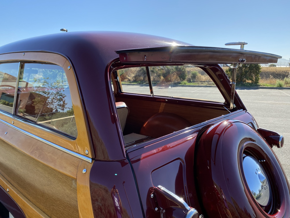 1950 Ford Custom Deluxe Woody 2 Door Station Wagon for sale