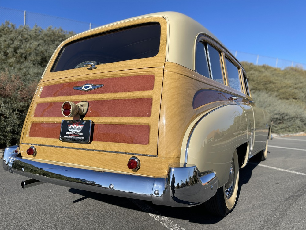 1951 Chevrolet Styleline Deluxe Tin Woody 4 Door Station Wagon for sale