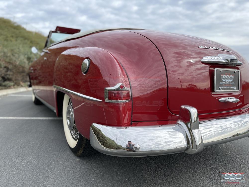 1951 Plymouth Cranbrook 2 Door Convertible for sale