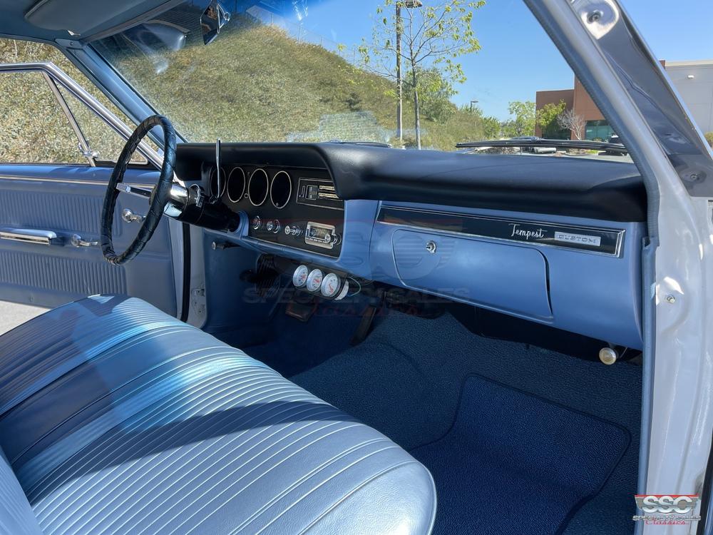 1966 Pontiac Tempest Custom 2 Door Sedan for sale