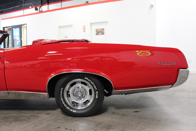 1967 Pontiac GTO 2 Door Convertible for sale