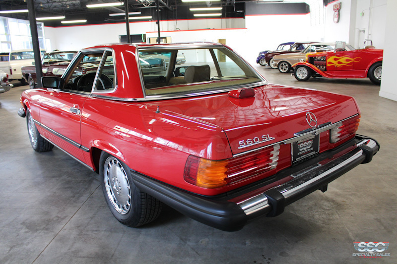 1986 Mercedes-Benz 560SL 2 Door Hardtop Convertable for sale