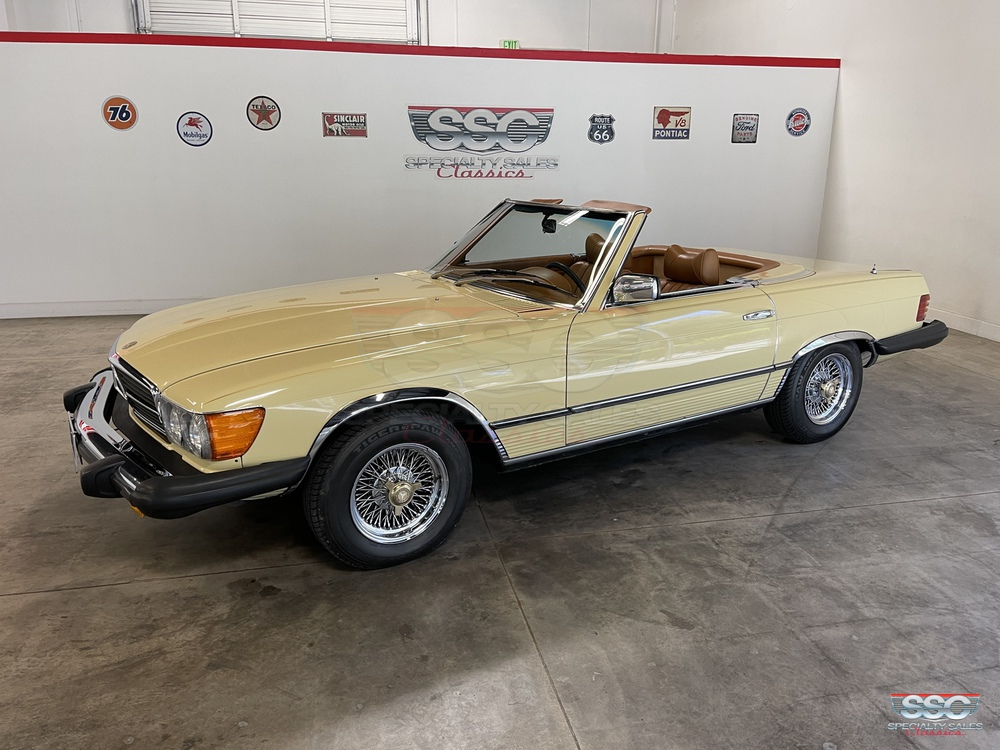 1979 Mercedes-Benz 450SL 2 Door Convertible for sale