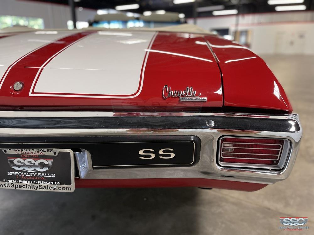 1970 Chevrolet Chevelle Super Sport 2 Door Convertible for sale