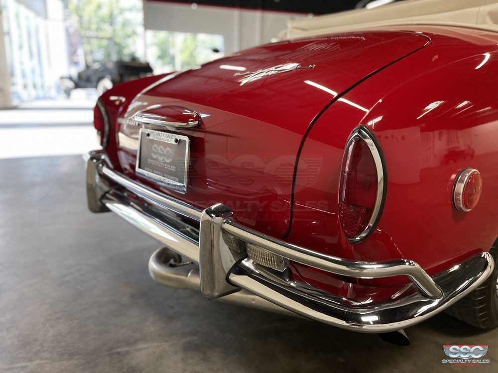 1968 Volkswagen Karmann Ghia 2 Door Convertible for sale