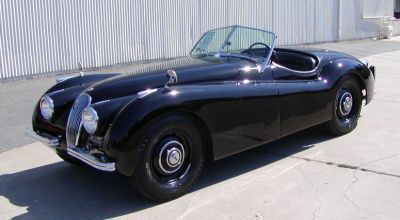 1953 Jaguar XK 120 2 Door Roadster Open Two Seater for sale