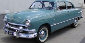 1951 Mercury M74 Sport 4 Door Sedan for sale